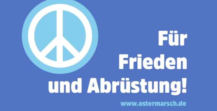 Achtsam demonstrieren: Ostermärsche finden auch 2021 statt