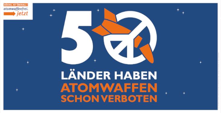 Am 22. Januar 2021 tritt das UN-Atomwaffenverbot in Kraft.