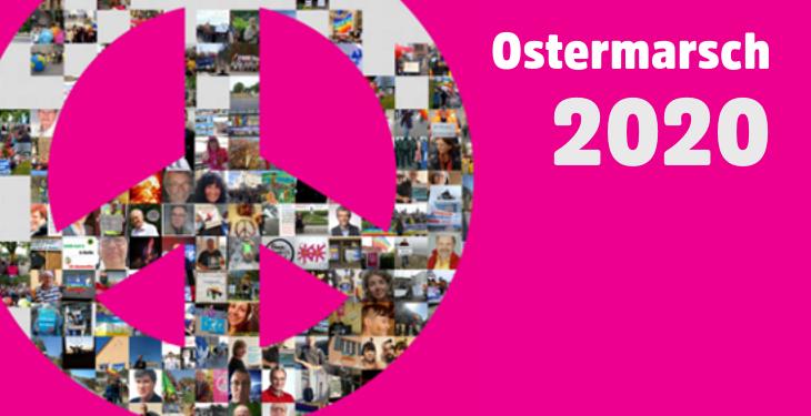 Auftakt der Ostermärsche 2020