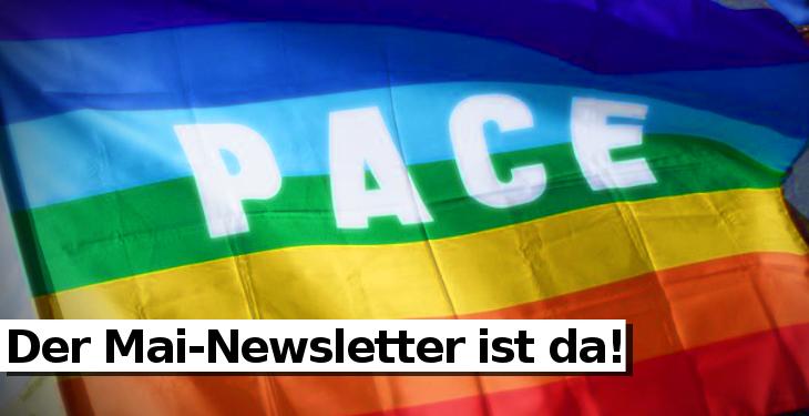 Mai-Newsletter Netzwerk Friedenskooperative