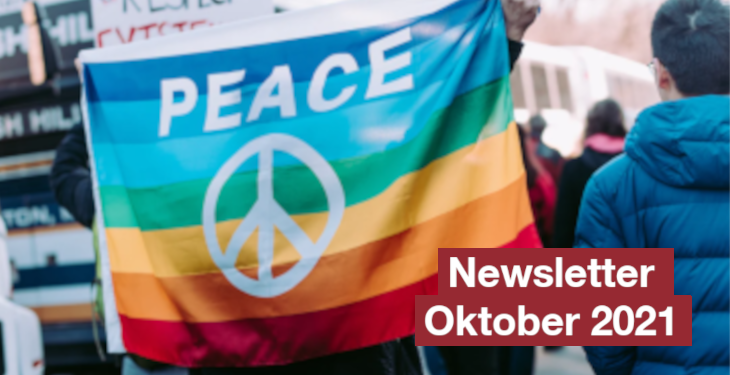 Friedenskooperative Newsletter Oktober 2021