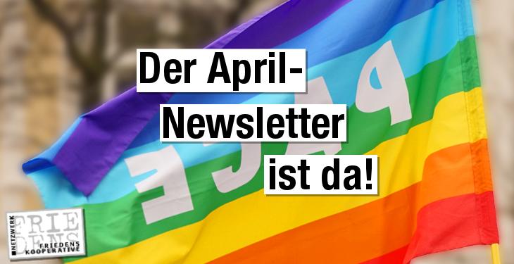 Große Freude: Unser Newsletter für den April 2018 ist erschienen!