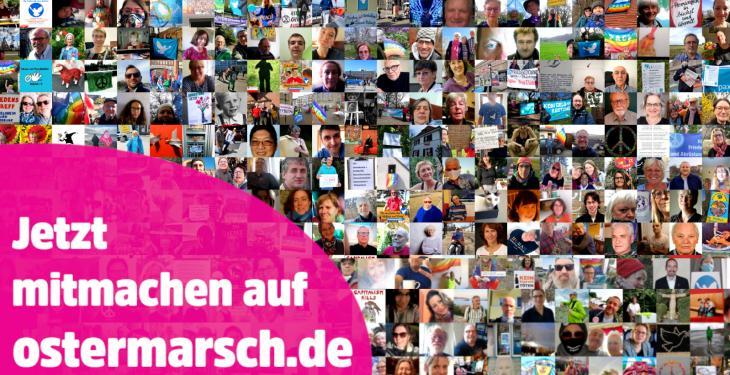 Virtueller Ostermarsch auf www.ostermarsch.de