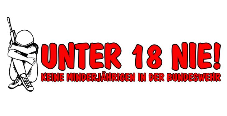 """Kampagne """"Unter 18 nie!"""""""