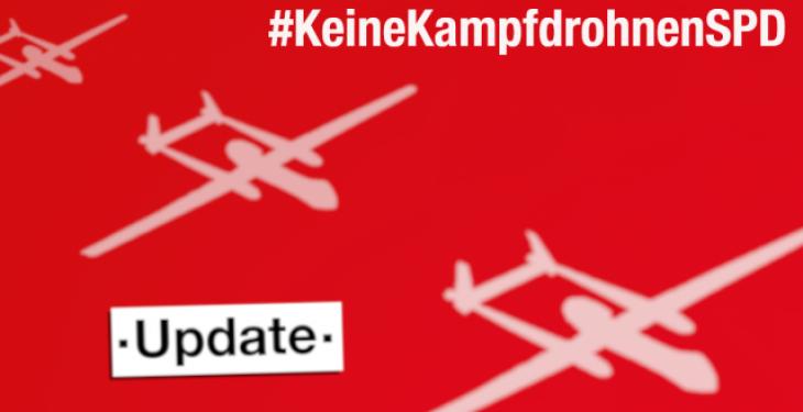 Update zur Drohnendebatte innerhalb der SPD