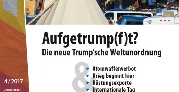 Cover FriedensForum 4/2017