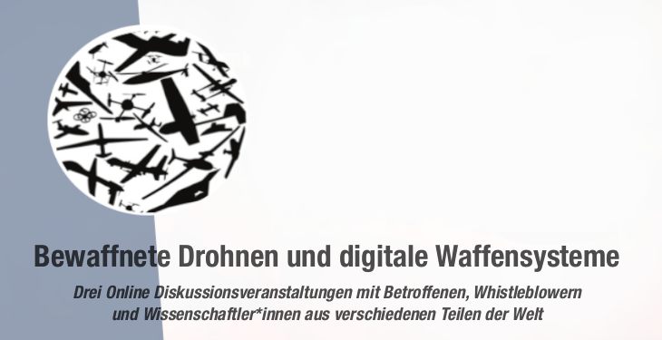 """Veranstaltungsreihe """"Deutschland und Europa am Scheideweg"""" - Bewaffnete Drohnen und digitale Waffensysteme"""