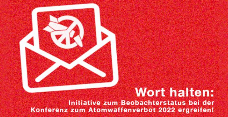 Beteilige dich an der neuen Email-Aktion auf lobbying4peace.de
