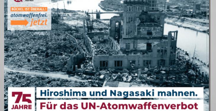 Poster A2_A3 75 Jahre Hiroshima und Nagasaki