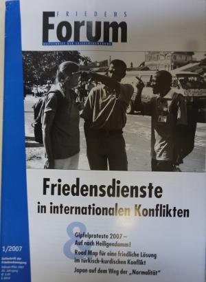 Cover FriedensForum 1/2007