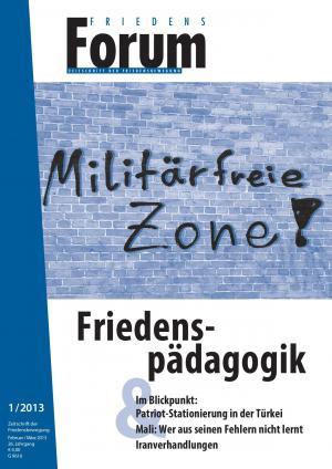 Cover FriedensForum 1/2013