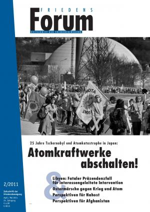 Cover FriedensForum 2/2011