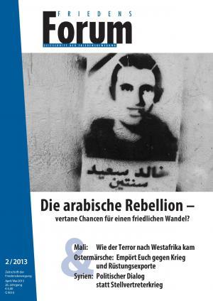 Cover FriedensForum 2/2013