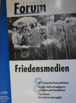 Cover FriedensForum 3/2007