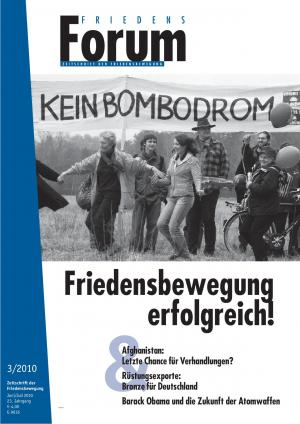 Cover FriedensForum 3/2010