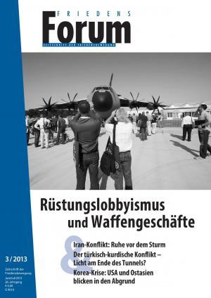 Cover FriedensForum 3/2013