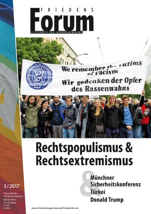 Cover FriedensForum 3/2017