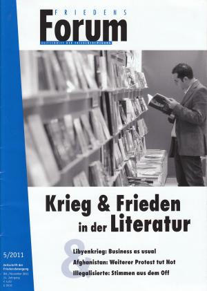 Cover FriedensForum 5/2011