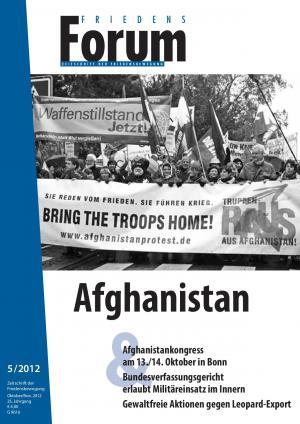 Cover FriedensForum 5/2012