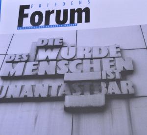 Cover Friedensforum 5/2013