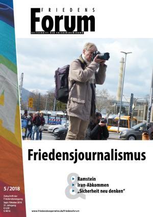 Cover FriedensForum 5/2018