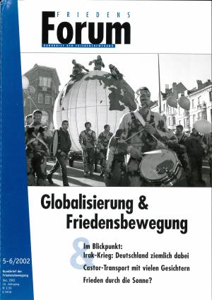 Cover FriedensForum 5.6/2002