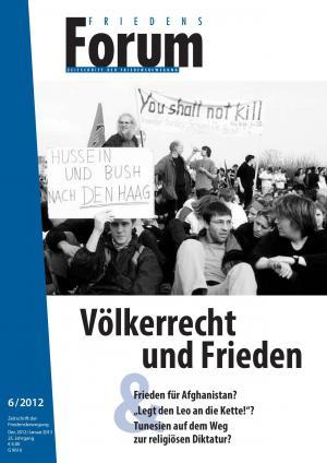 Cover FriedensForum 6/2012