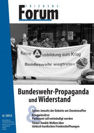 Cover Friedensforum 6/2013