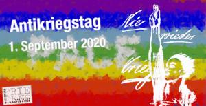 Alle Infos zum Antikriegstag 2020 am 1.September