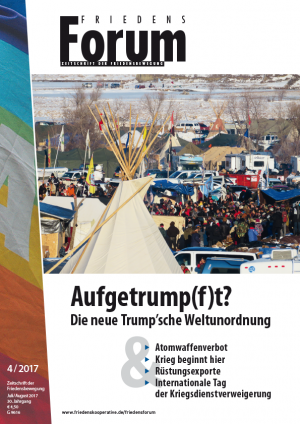 Cover FriedensForum 4/2017
