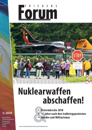 Cover FriedensForum 3/2018