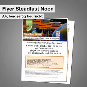 Flyer Steadfast Noon Shop