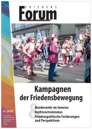 Cover Friedensforum 6/2016