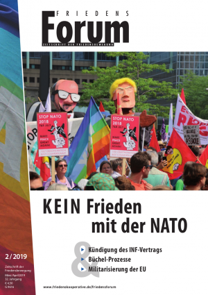 FriedensForum Cover 2/2019