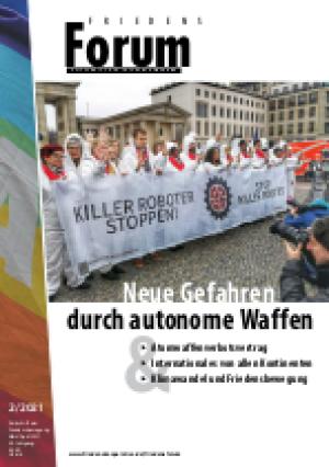 Cover FriedensForum 2/21