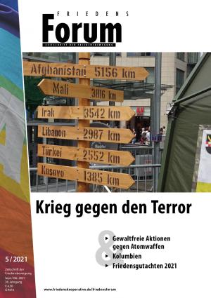 Cover FriedensForum 5/21
