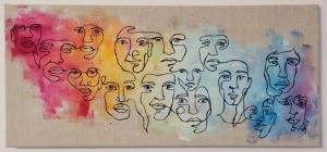 """""""Faces of Peace"""" von Wiebke Jaeckel"""