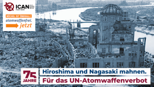 Hiroshima- / Nagasaki-Gedenktag 2020