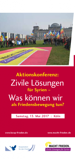 Aktionskonferenz 13. Mai in Köln