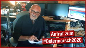 Konstantin Wecker ruft auf zum virtuellen Ostermarsch 2020