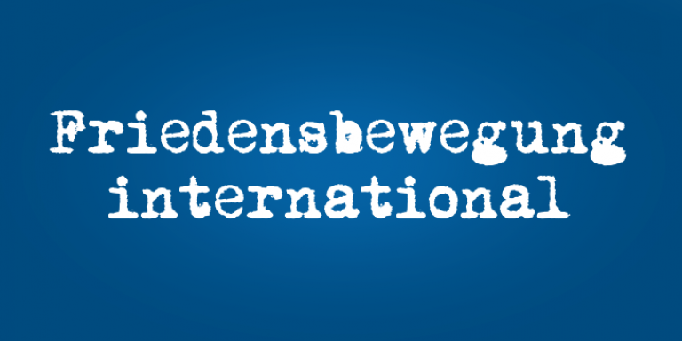 Friedensbewegung international