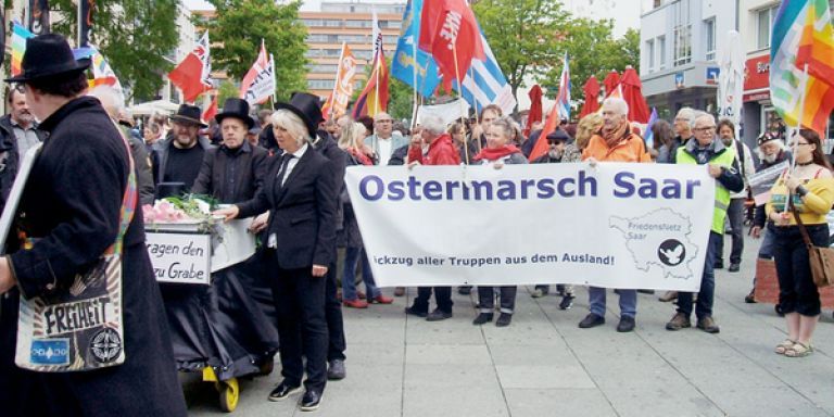 Ostermarsch Saar 2017