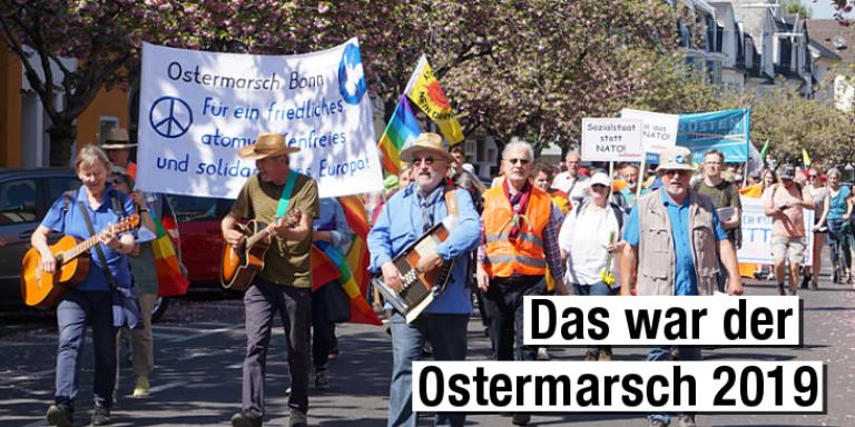 Unser Rückblick auf den Ostermarsch 2019
