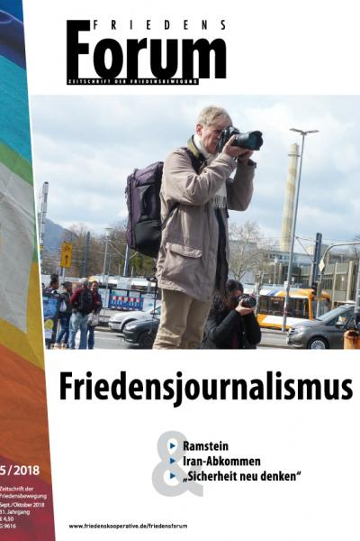 Cover FriedensForum 5/2018