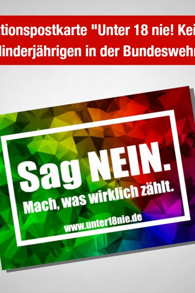 """Aktionspaket """"Unter 18 nie!"""""""