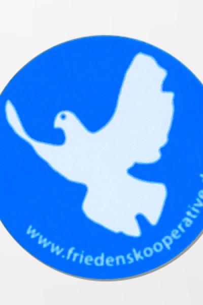 Aufkleber Friedenstaube
