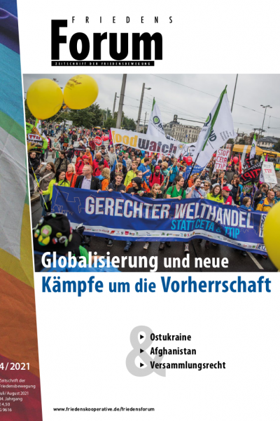Cover FriedensForum 4/21
