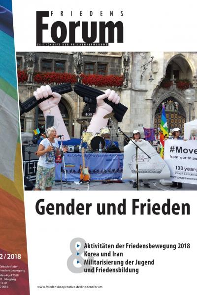 Cover FriedensForum 2/2018
