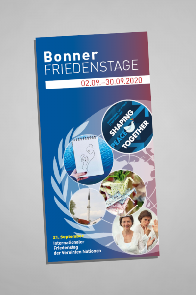 Flyer Bonner Friedenstage 2020