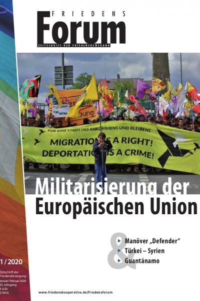 Cover FriedensForum 1/2020